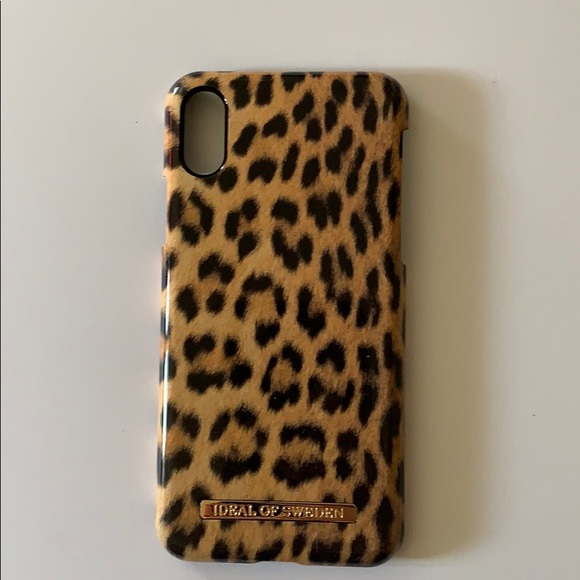size 40 bce2e 0b881 iDeal of Sweden - Wild Leopard iPhone X phone case